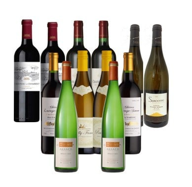 Premium French Mixed case - french wines at their best