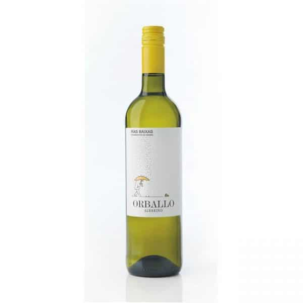 La Val Orballo Albarino is wine of the month at Inspiring Wines
