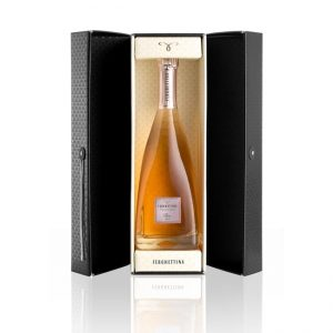 Ferghettina Franciacorta Rose Brut In a Beautiful Presentation Gift Box