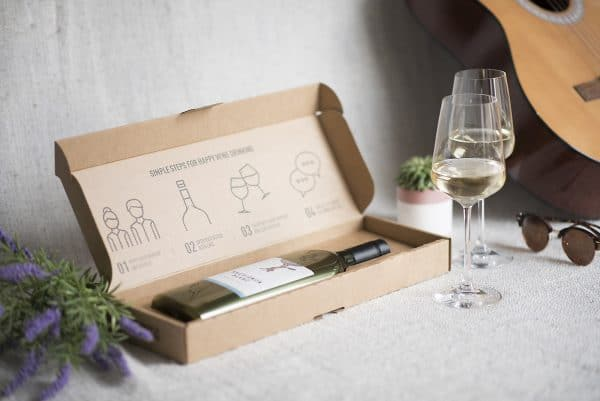 Corporate Gifts - New from Garçon Wines - Complete with their own post friendly packaging