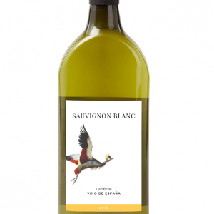 Letterbox Wines - flat wine bottle, the perfect gift - Spanish Sauvignon Blanc