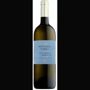 Bottega Vinai Trentino Pinot Grigio with optional gift box.